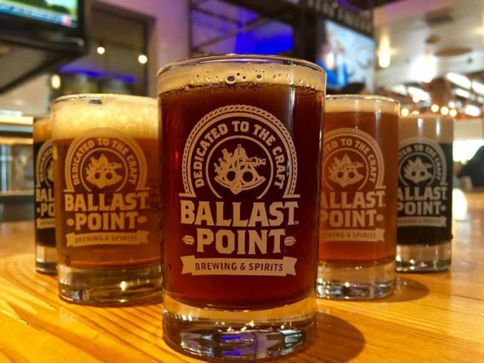 Ballast Point beer cups