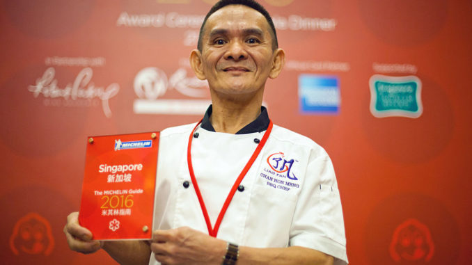 Winners At The Inaugural Michelin Guide Singapore 2016 Awards Ceremony