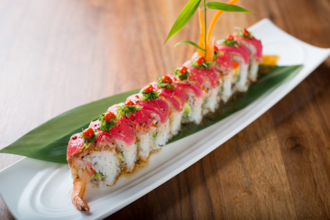 位于圣地亚哥北部Rancho Bernardo的寿司店Love Boat爱之舟广受食客的好评。(图/Love Boat Sushi)
