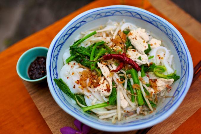 圣地亚哥著名泰国餐馆Saffron的菜色色香味俱佳。(图/Saffron)
