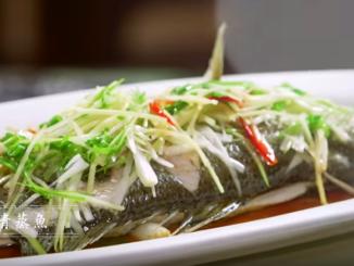 清蒸鱼 Steamed Fish