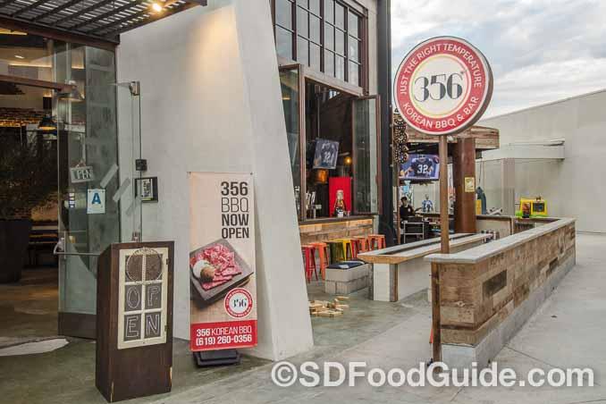 356韩国烤肉(356 Korean BBQ)走的是现代西餐风,希望以质量取胜。(图/李旭生)