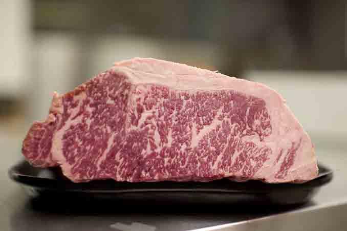 Kobe beef Nick & Sam's Steakhouse