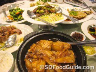 北郡福临门Pearl的广东菜非常地道,很受欢迎。
