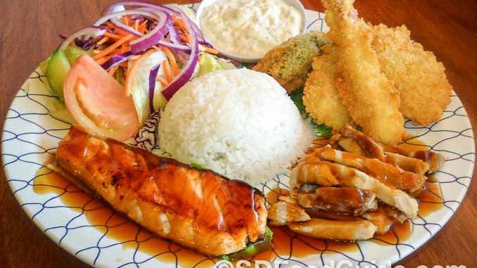 花冈Hanaoka集团旗下Junz餐厅的特色美食-夏威夷美食套餐。