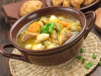 春季养生美味靓汤-三豆排骨汤。