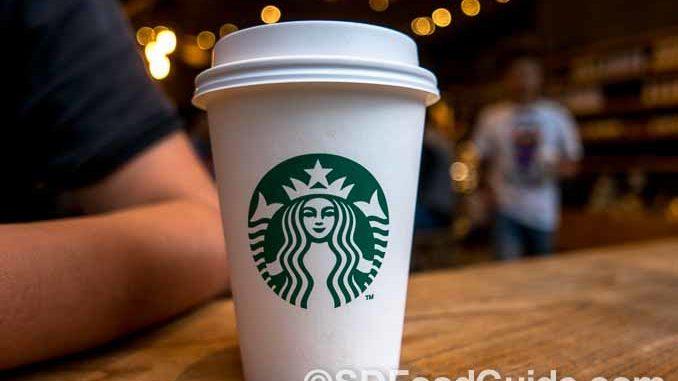 著名的星巴克咖啡(Starbucks Coffee)广受消费者的欢迎和追捧。