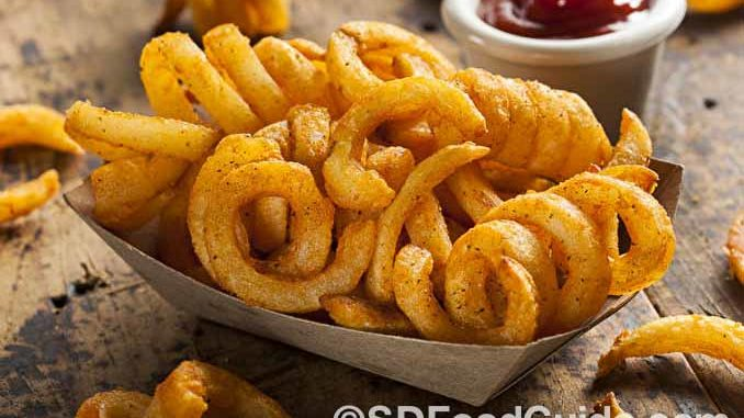 Arby's的卷卷薯条(薯圈圈)是非常不健康的垃圾食品。(Brent Hofacker/Shutterstock)