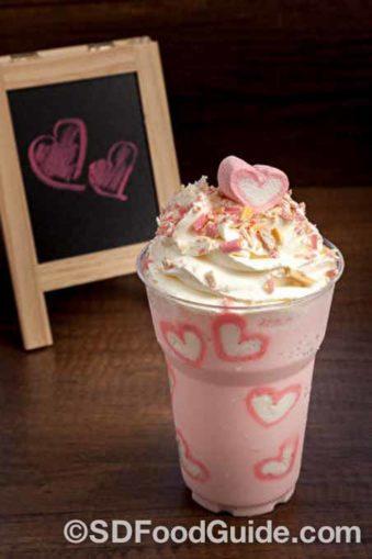 麦当劳著名的奶昔Milk Shake。(YKTR/Shutterstock)