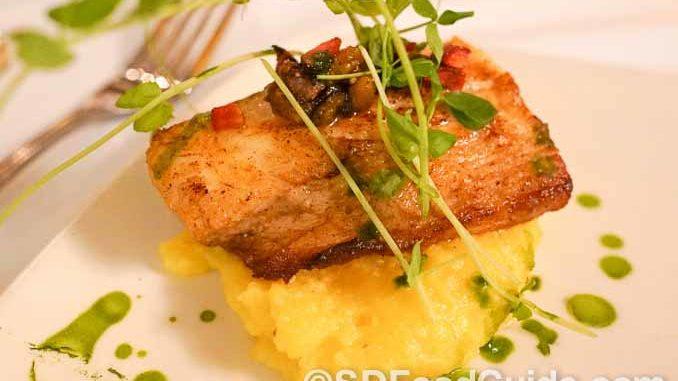 La Strada意大利餐厅的香煎鳕鱼。(摄影:李旭生)