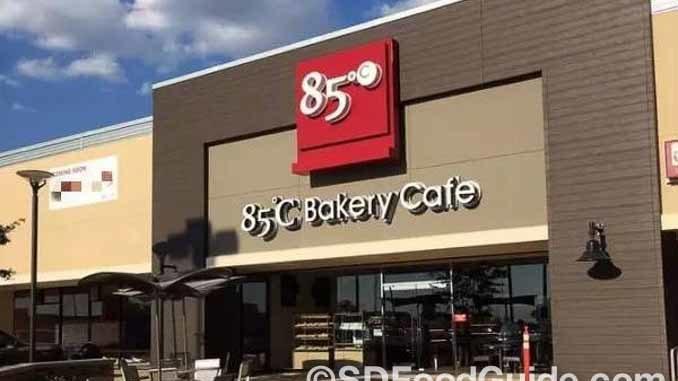 85度C全球第1000家分店于7月7日在美国休斯顿中国城开业。(网络图片)