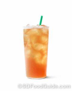 桔香桃子白茶(图片由Starbucks 提供)