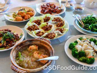 富临酒家(China Max)的6人份套餐。(摄影:李旭生)
