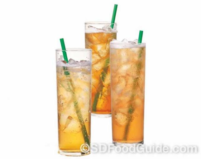 星巴克(Starbucks)推出三款新口味冰摇茶。(图片由Starbucks 提供)