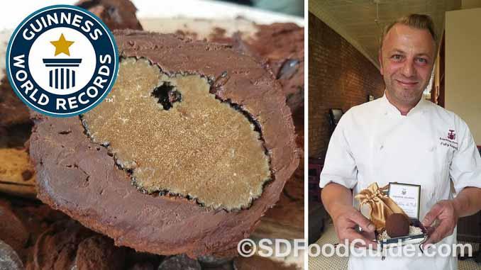 丹麦巧克力师傅尼普席德制作世界上最贵的巧克力,其单价为一块250美元。(视频撷图)