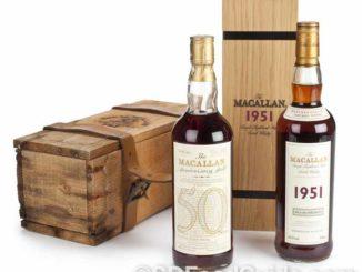 一瓶酒龄超过40年的Macallan威士忌酒动辄售价超过$1.5万美元!